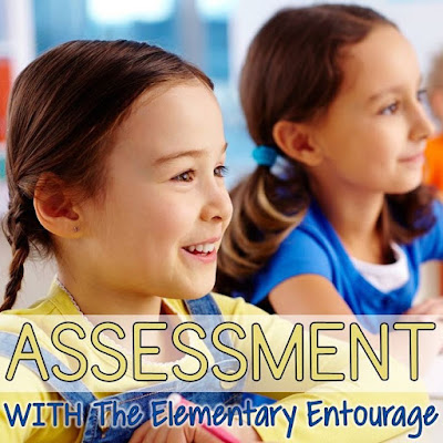 Assessment doesn't always mean a written exam. Assessment should be ongoing throughout every lesson. Simple checks for understanding using white boards, turn and talk, and quick writes.