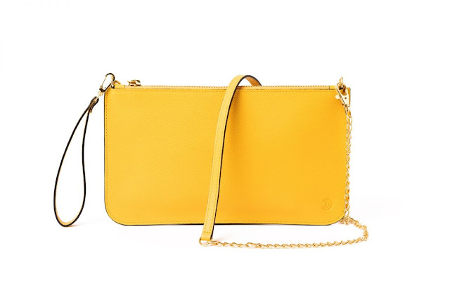 CLUTCH SLIM AMARILLO