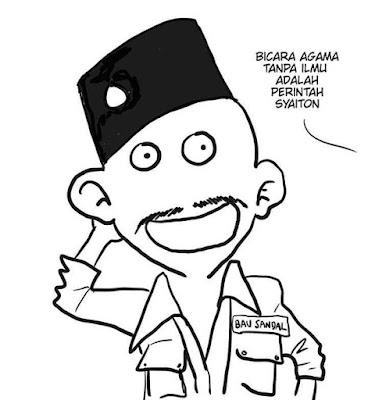 11 Meme 'Abu Janda' yang Babak Belur Abis Dihajar Ustad Felix Siauw di Acara ILC