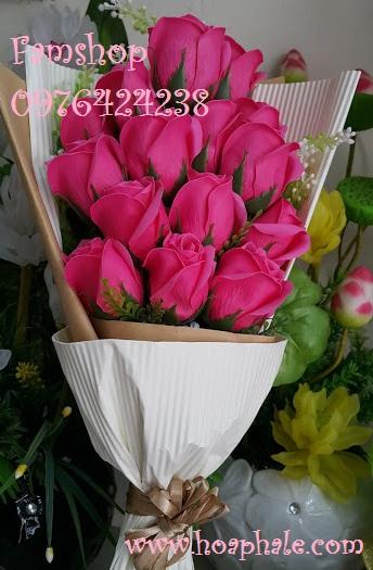 Hoa hong sap thom vinh cuu o Hang Dau
