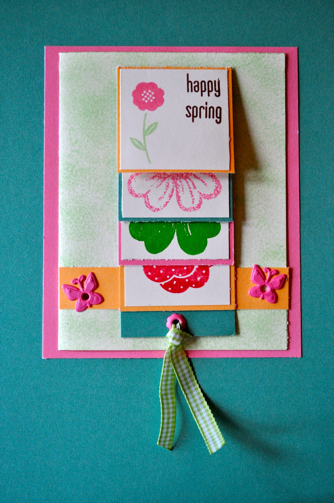 Waterfall Card Tutorial Sprinkle Some Fun