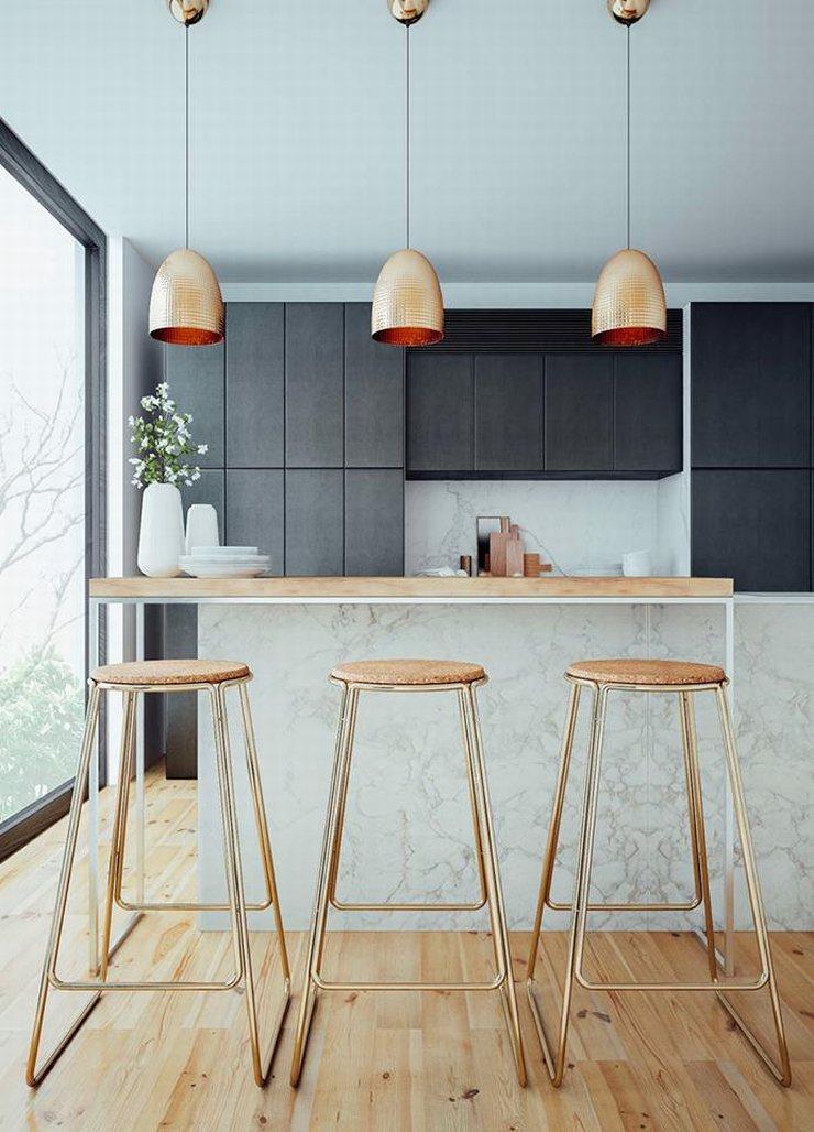 thiết kế thi công nội thất nhà bếp độc đáo 26