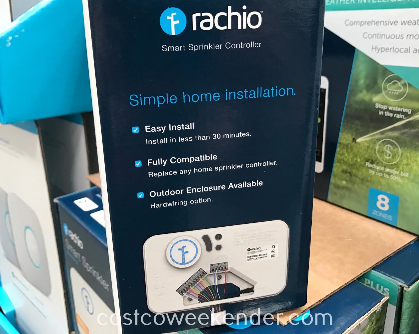 Rachio Smart Sprinkler Controller: great for any home's backyard or garden