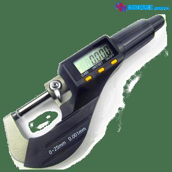 Alat Ukur Diameter, Ketebalan Dan Panjang Benda (Micrometer Digital)