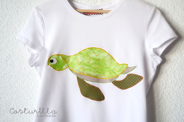 Camisetas tortugas
