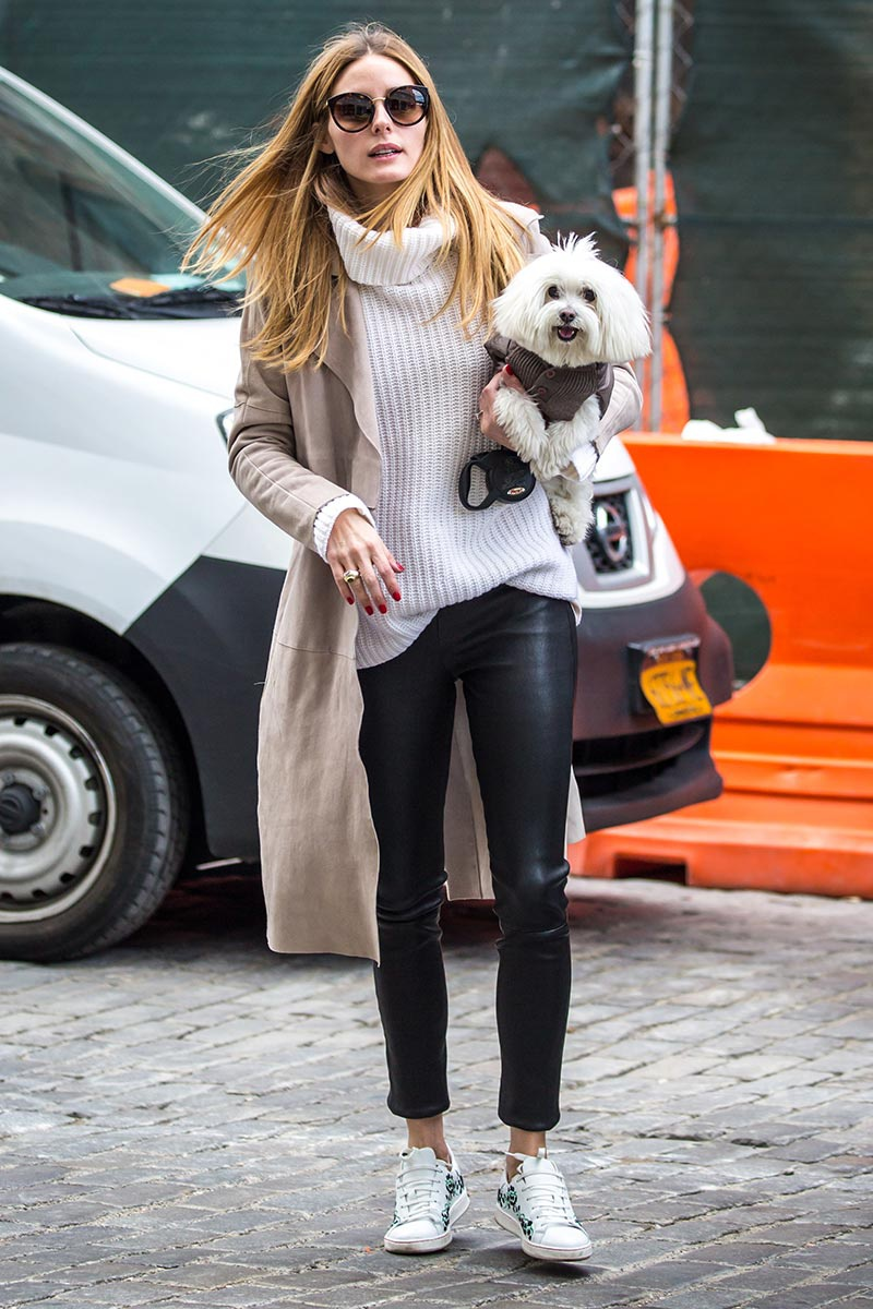 celebrit favorite sneakers Olivia Palermo {Cool Chic Style Fashion}