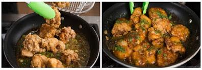 دجاج كاراج Karaage ( دجاج مقلى) بالفلفل الحار على الطريقة اليابانية بالصور