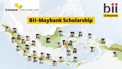 Beasiswa Bank BII - BII Maybank Foundation Scholarship