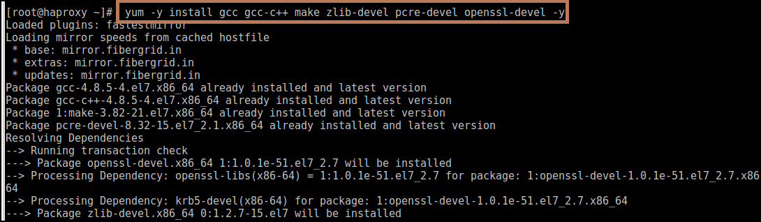 Nginx Installation using Source