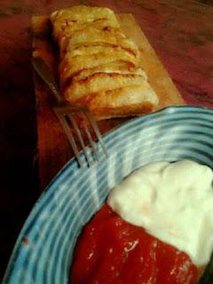 Bontot - makanan khas daerah Domas Kab.Serang yang mirip dengan Cireng