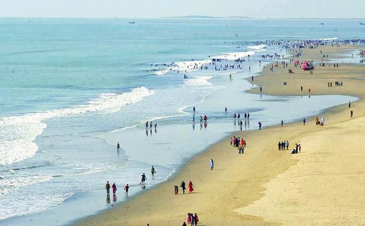 What is Cox Bazar famous for?
