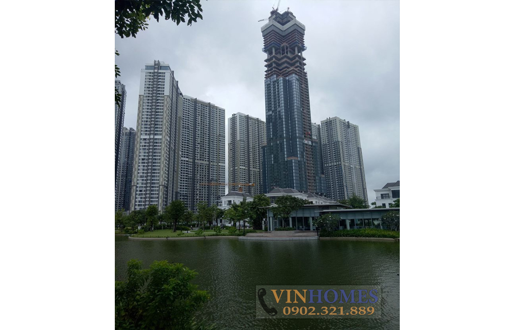 Bán căn hộ Vinhomes Landmark 2 view tòa nhà Landmark 81
