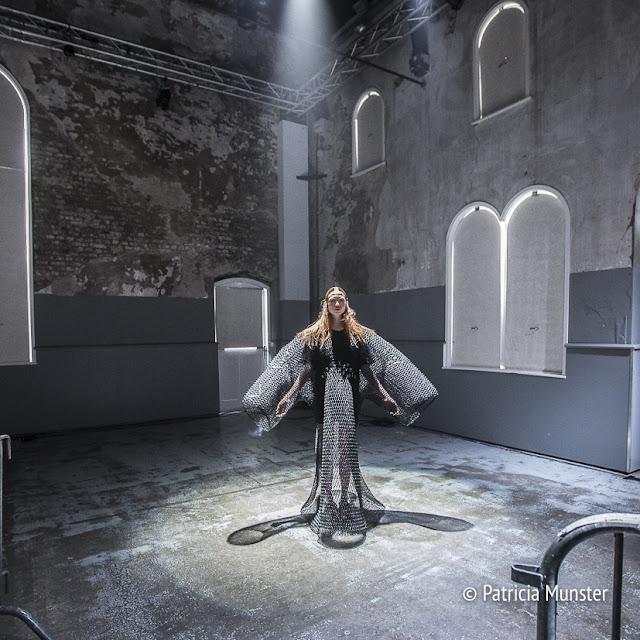 Barbara Langendijk ft. Noon Passama at Amsterdam Fashion Week juli 2017 #MBFWA