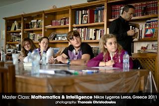 Νίκος Λυγερός: Μαθηματικά Νοημοσύνη και Παιδί, Λέρος 2011