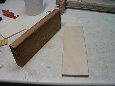 Holzbrettchen Reste