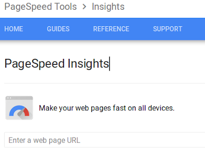 Check Site Speed using Google PageSpeed Insights