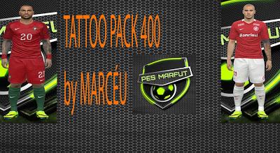 PES 2016 Marceu Tattoopack 400