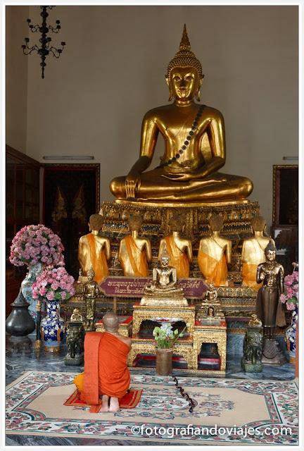 Sala Karnparien en Wat Pho en Bangkok