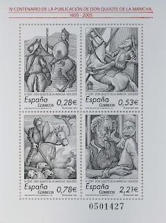 IV CENTENARIO DE LA PUBLICACIÓN DE DON QUIJOTE DE LA MANCHA 1605-2005