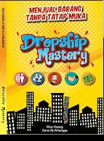 dropship mastery, buku rico huang, pasukan alona, buku dropship