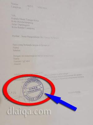 Legalisir Surat Paklaring