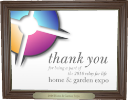 Relay For Life - Home&Garden Expo 2016