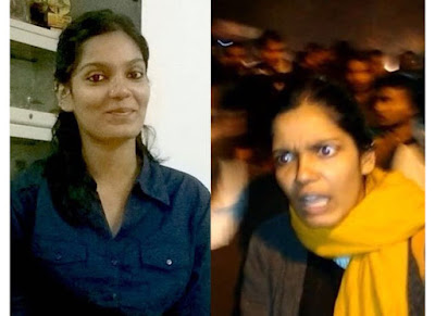 "CPI general secretary Raja's daughter Aparajita is among 20 suspect students reportedly identified by Delhi police for shouting anti-India slogans.   ""The police have released a list of 20 people, including CPI general secretary D Raja's daughter, Aparajita,"" CPI (M) general secretary Sitaram Yechury said on Saturday.   The spotlight trained on Aparajita after BJP MP Mahesh Giri alleged that she was present during the anti-India protest in JNU and was raising slogans."
