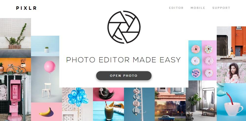 Edit Foto Online Dengan Aplikasi Pixlr X
