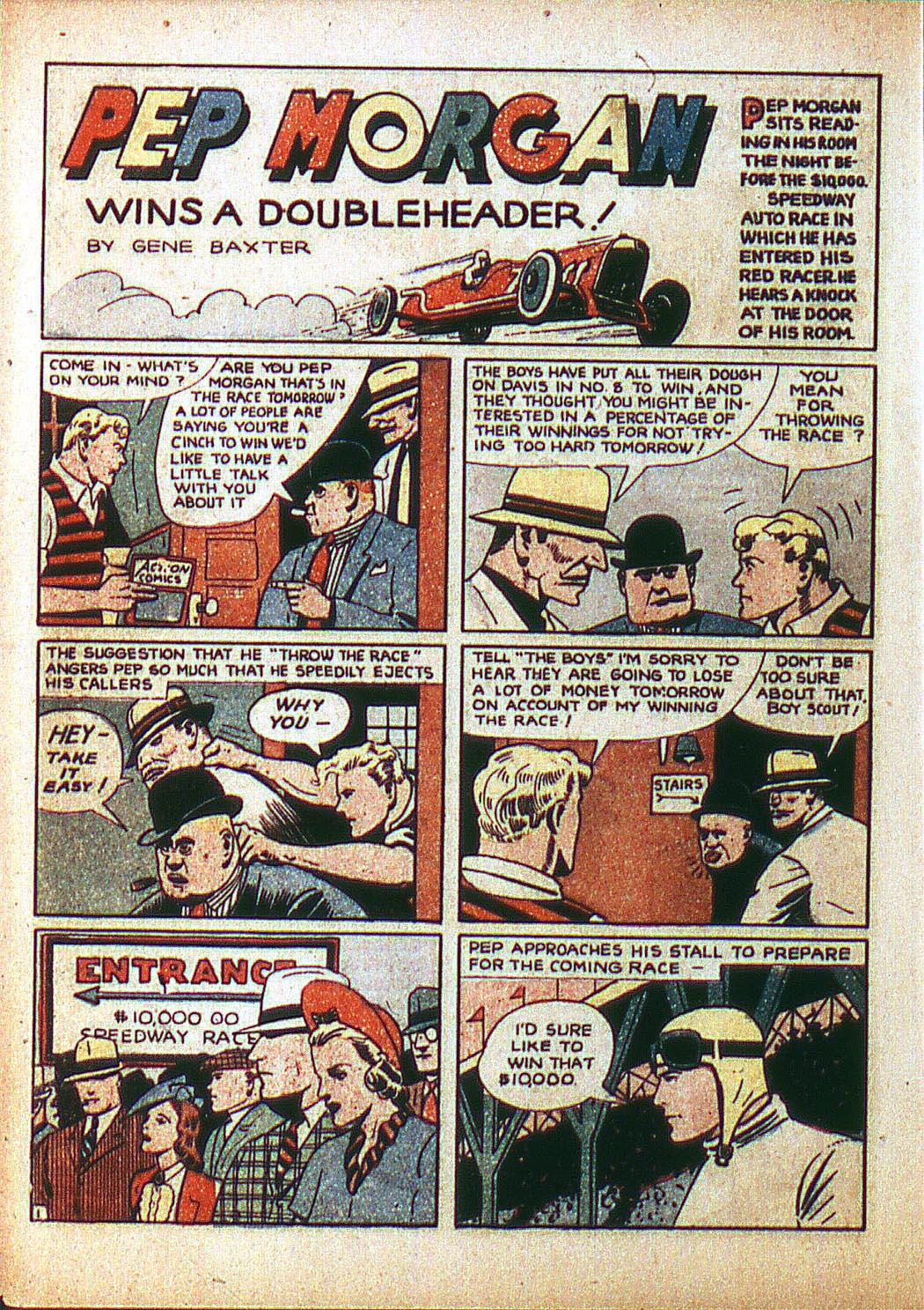 Read online Action Comics (1938) comic -  Issue #3 - 22