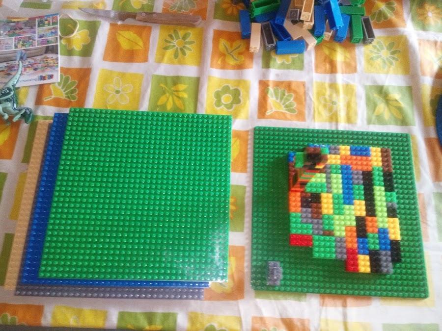 Bases cuadradadas 25x25 lego universal