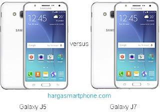 Harga dan Perbedaan Samsung Galaxy J5 dengan J7