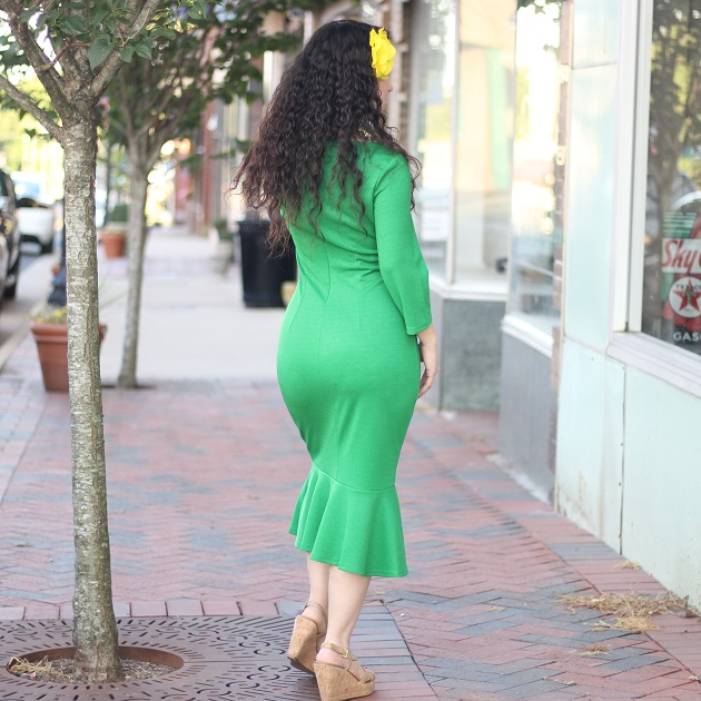 Green Mermaid Dress