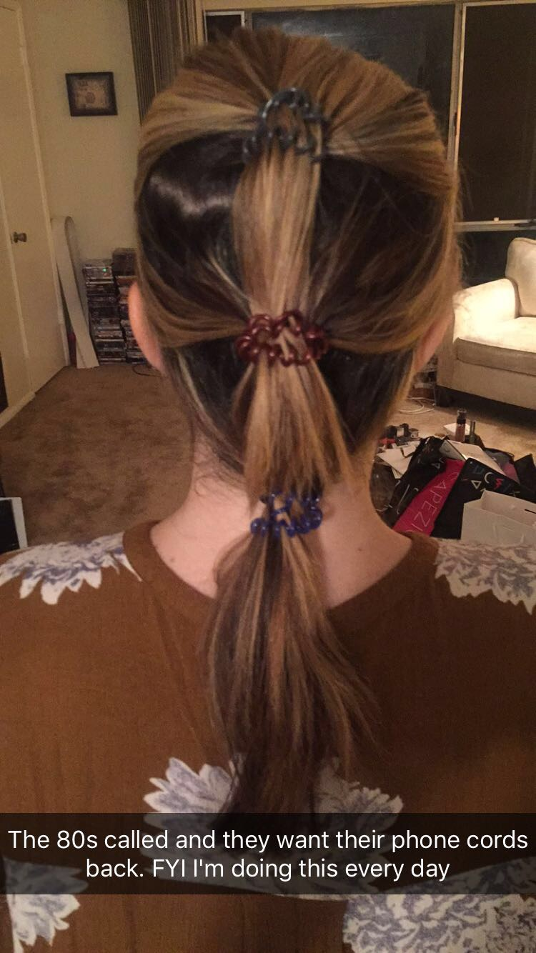 The Beauty of Life  Flashback Friday  Recreating The 1980s and  1990s-Inspired Segmented Ponytail with Invisibobble Traceless Hair Rings fda4ee9cc93