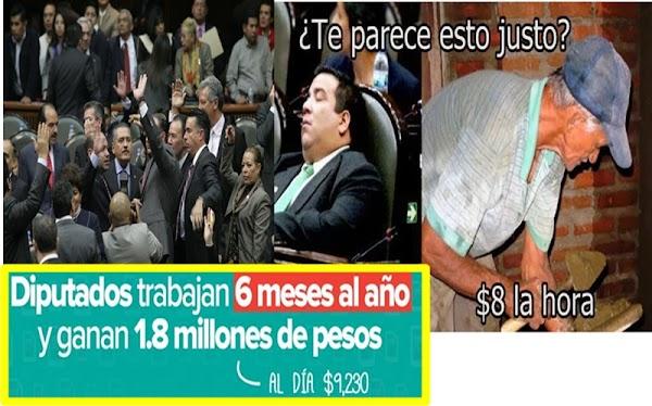 Diputados gastan 300 mil pesos para actualizar calculadoras y relojes checadores