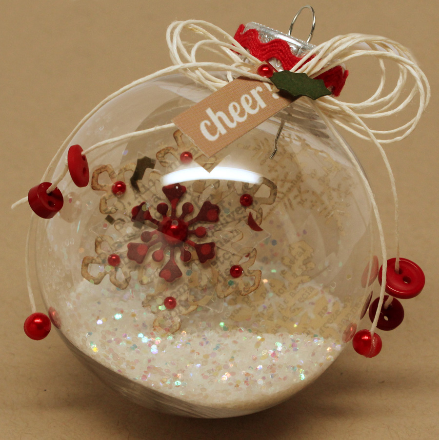 Diy Glass Ornaments: PageMaps: 12 Days Of Ornaments: Day 11