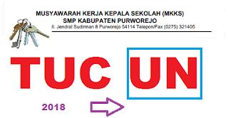 soal TUC UN Purworejo 2018