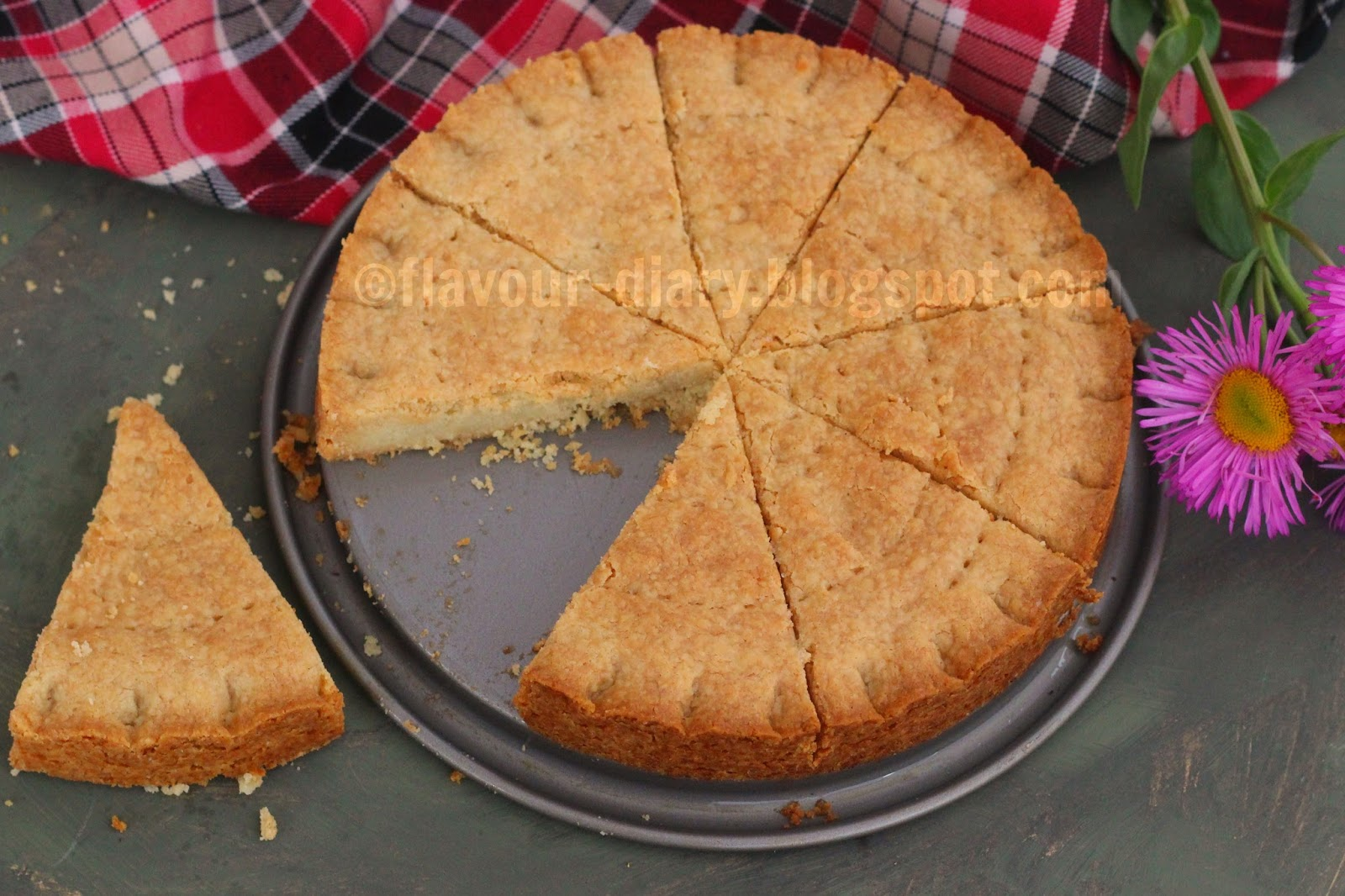 Scottish Shortbread Recipe flavourdiary