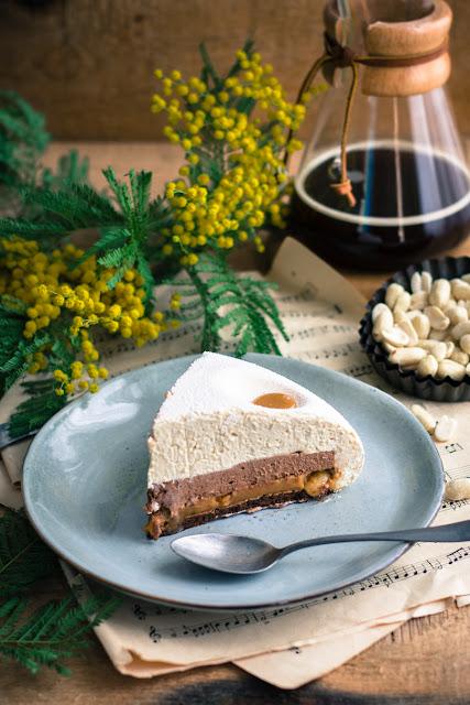 Kakahuète, le gâteau aux cacahuètes, caramel onctueux et chocolat