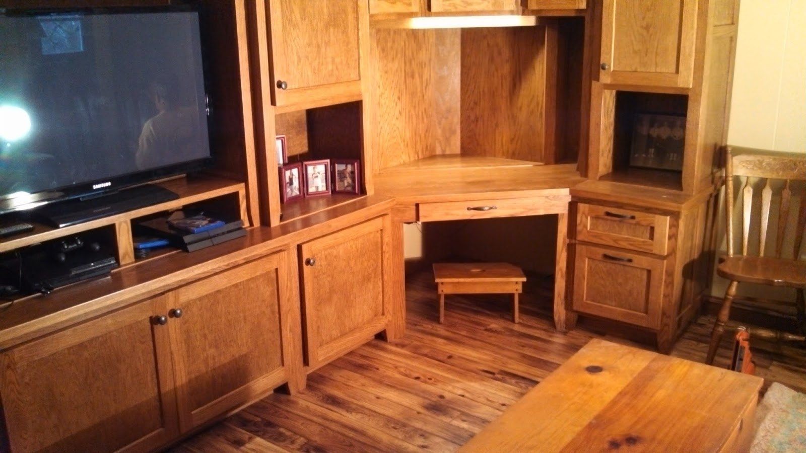 Timber Art Custom Home Office Amp Tv Stand