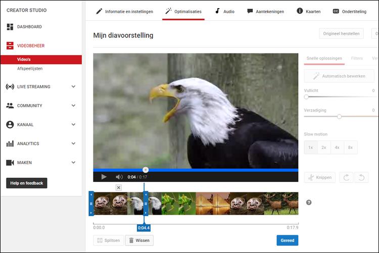 hoe knip je een video