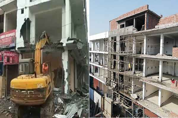 mcf-started-demolition-matiamahal-ballabgarh-illegal-contruction-news