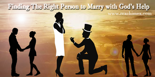 Finding The Right Guy To Marry