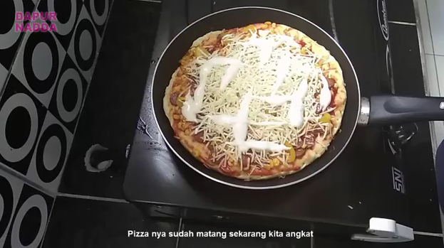 Cara Membuat Pizza Teflon - Dapur Nadda 18