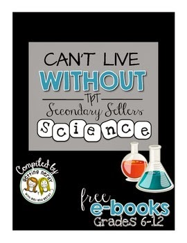 Check out these FREE ebooks filled with Can't Live Without It resources from a variety of Teacher-Authors! There are 30 TpT stores represented in each of the four ebooks, which are broken down by ELA, math, science, and humanities. Click through to get the links to download your free ebooks!