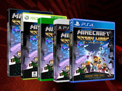 صورة  لتجربة لعبة ماين كرافت 1 Minecraft Story Mode Episode في جهاز الحاسوب