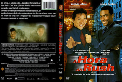 Filme A Hora do Rush (Rush Hour) DVD Capa