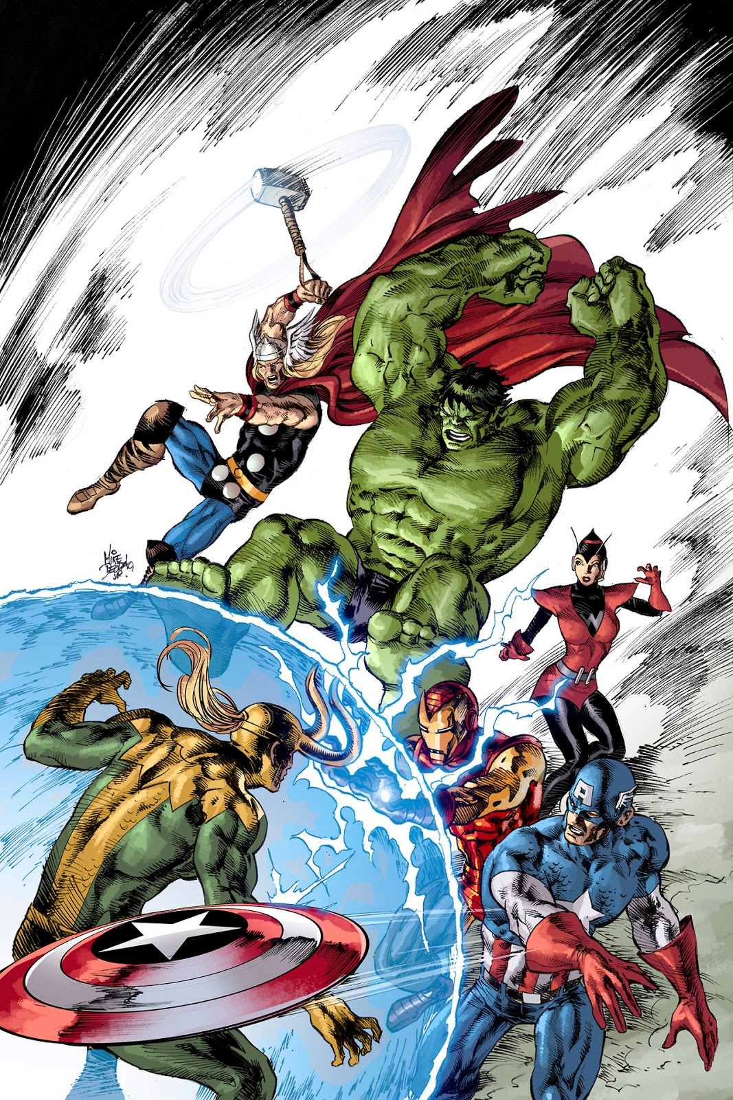 The Dork Review Rob S Room Avengers 24 Variant Cover By