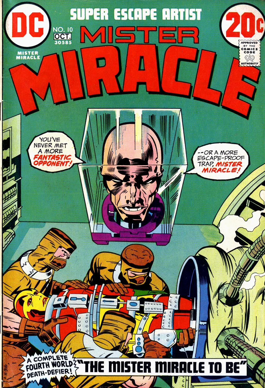Mister Miracle (1971) issue 10 - Page 1
