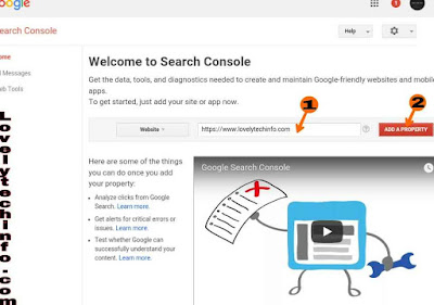 blog ko google search me submit
