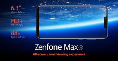 Asus Zenfone Max M2 Display